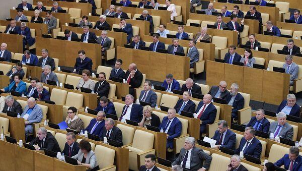 Пленарное заседание Госдумы РФ  - Sputnik 日本