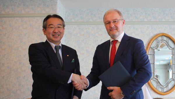 ホテルオークラとAEON、合意書調印 - Sputnik 日本