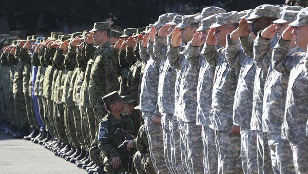 日本と米国の兵士 埼玉訓練 - Sputnik 日本