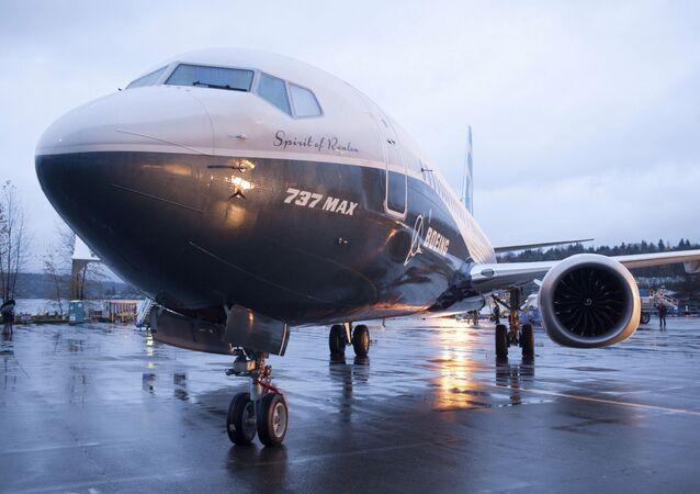 新型旅客機「737MAX」(アーカイブ写真)
