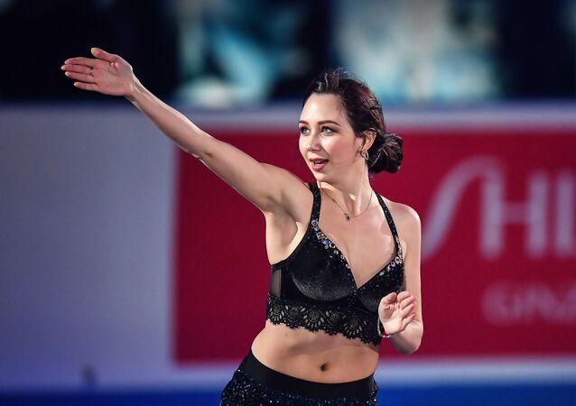 フィギュアスケートのエリザベータ・トゥクタミシェワ(ロシア)