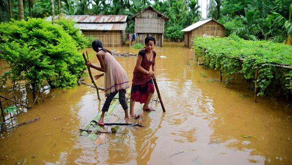 インド・アッサム州で洪水 約520万人が被災、少なくとも20人が死亡 - Sputnik 日本