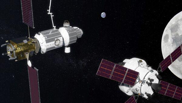 月周回軌道上のステーション - Sputnik 日本