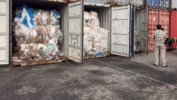 カンボジア、1600トンのゴミを米国とカナダへ送り返す - Sputnik 日本