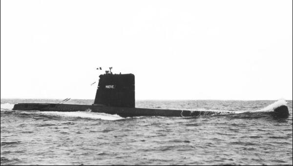 半世紀前に沈没の潜水艦が仏沖で見つかる - Sputnik 日本