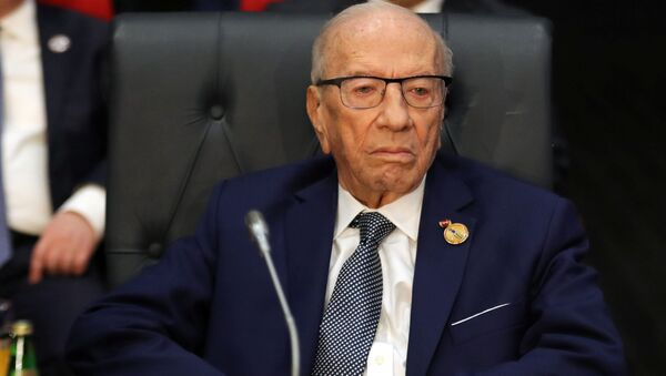 チュニジア大統領死去 - Sputnik 日本