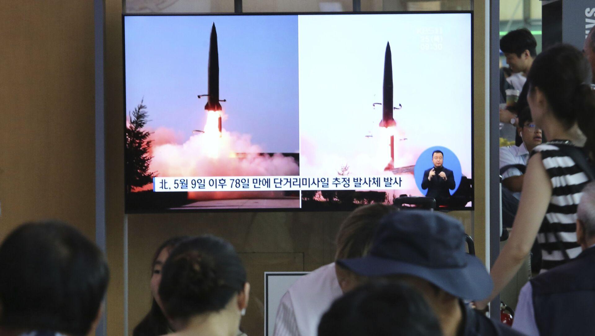 日米、北朝鮮の飛しょう体の対処検討で連携へ - Sputnik 日本, 1920, 02.10.2021