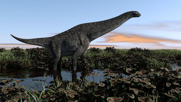 南米で地球最古のティタノサウルスが発見 - Sputnik 日本