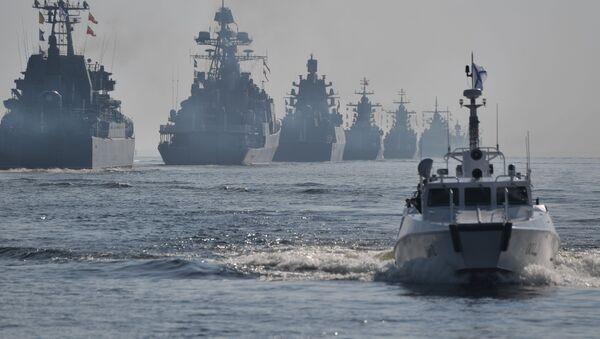 ロシア海軍パレード - Sputnik 日本