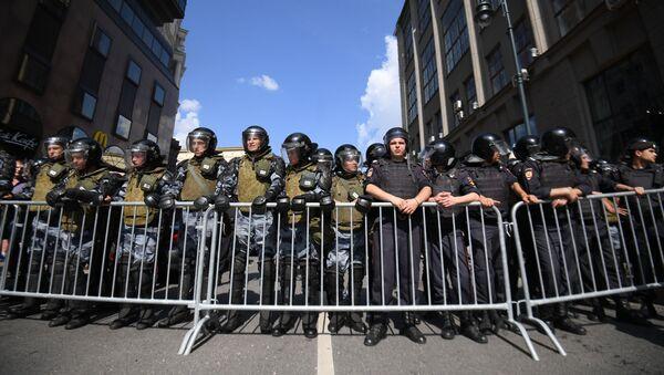 7月27日に当局の許可なしで行われ、多数の市民が拘束されたデモ - Sputnik 日本