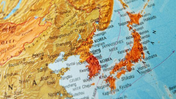 東アジアの地図 - Sputnik 日本