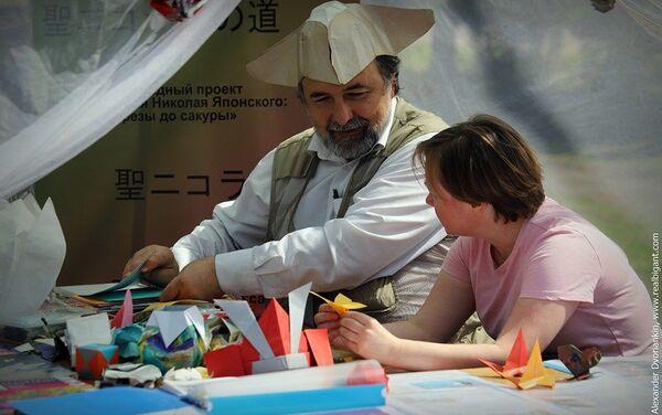 折り紙のマスタークラス - Sputnik 日本
