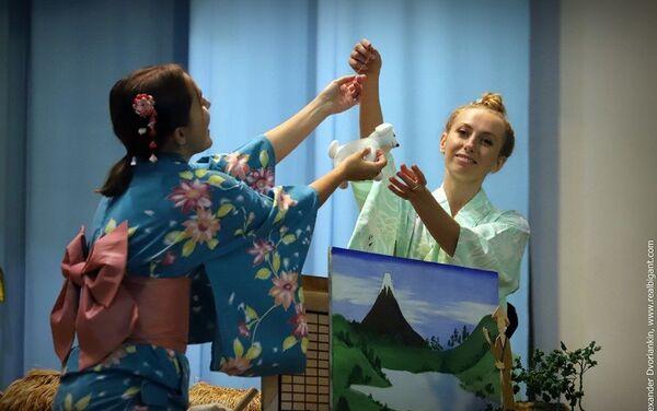 日本の昔話を題材にした人形劇 - Sputnik 日本