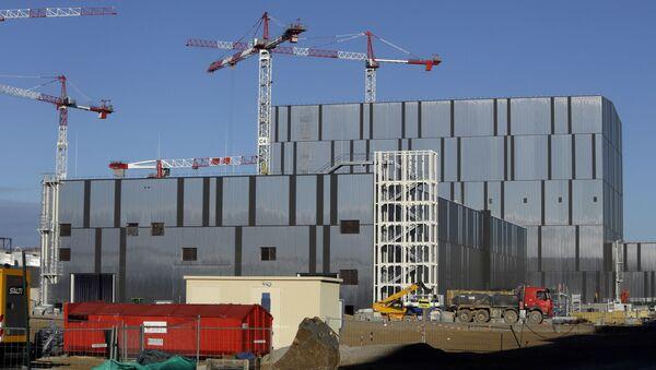 Сборочный цех и завод по намотке на строительной площадке ИТЭР - Международного термоядерного экспериментального реактора - Sputnik 日本
