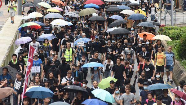 香港 国安法違反で初の実刑判決 国家分裂扇動などで禁固9年 - Sputnik 日本