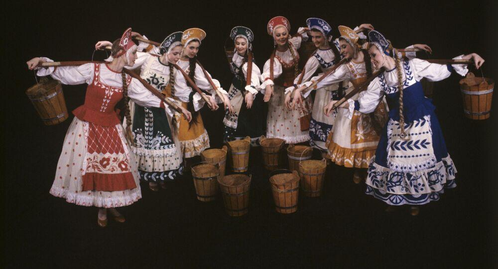 ロシアのフォークダンス