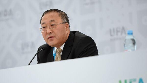 中国の張軍・国連大使(アーカイブ写真) - Sputnik 日本