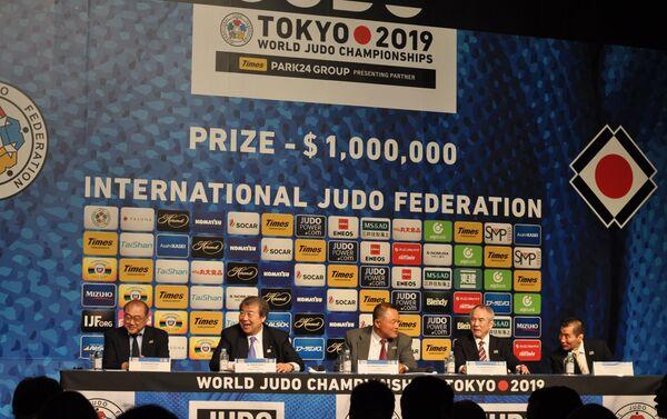 全日本柔道連盟の代表たち - Sputnik 日本