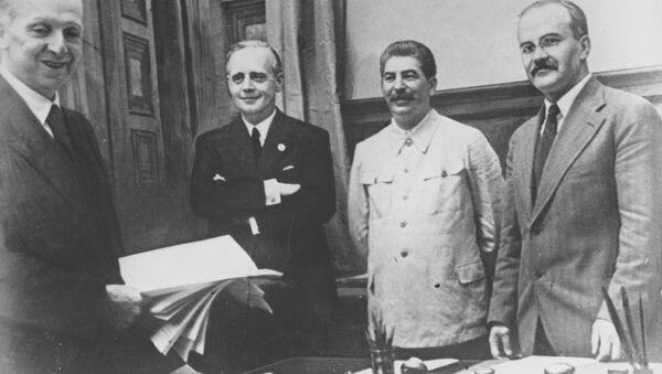 独ソ不可侵条約 - Sputnik 日本