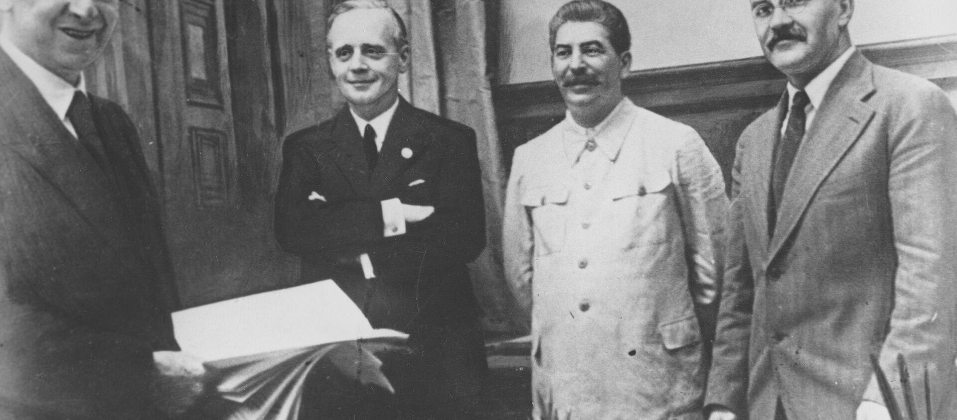 独ソ不可侵条約 - Sputnik 日本, 1920, 26.08.2019