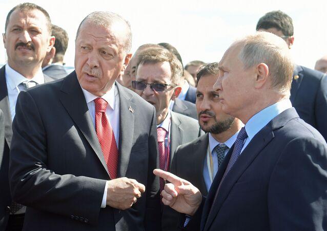 エルドアン大統領とプーチン大統領