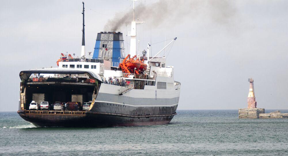 フェリー船 サハリン