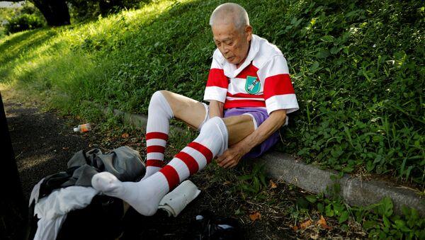 86歳で現役ラガーの永山隆一さん 練習風景 東京 - Sputnik 日本