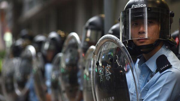 香港市民に対し、警察官居住区への立ち入り禁止 - Sputnik 日本
