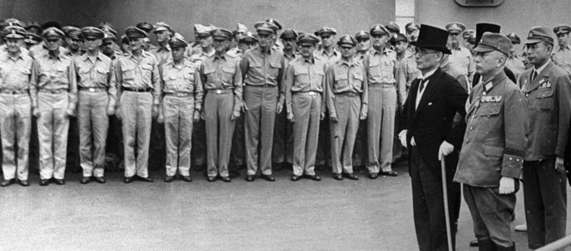 降伏文書調印 〜 ミズーリ号にて - Sputnik 日本, 1920, 02.09.2020