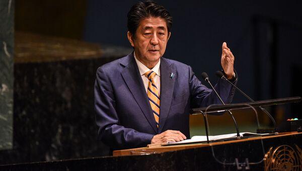 安倍首相 金正恩委員長との会談と中国との関係の新たな時代の幕開けを希望 - Sputnik 日本