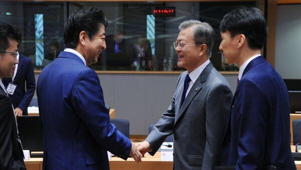 日韓首脳会談、来週に開催 15カ月ぶり - Sputnik 日本