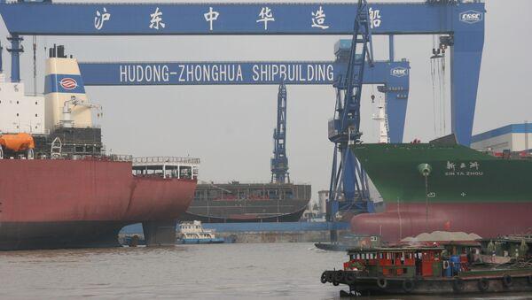 Hudong-Zhonghua Shipbuilding. - Sputnik 日本