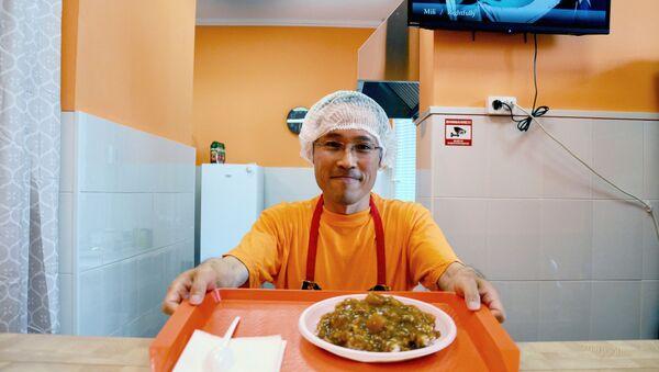 「母のカレー」のオーナー、大坪拓己さん - Sputnik 日本