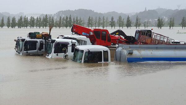 韓国 台風「ミートク」が上陸 6人死亡 - Sputnik 日本