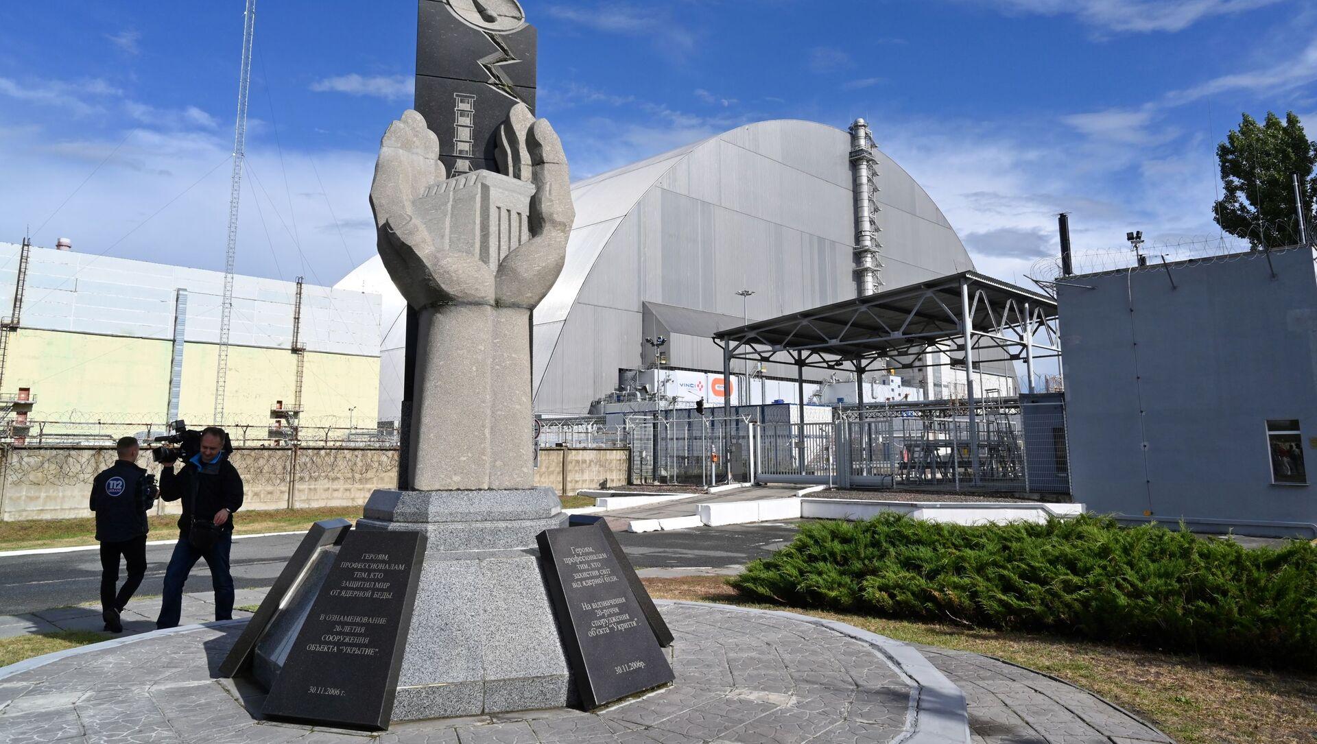 チェルノブイリ原子力発電所 - Sputnik 日本, 1920, 26.04.2021