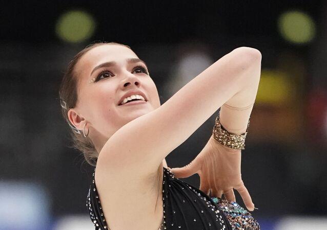 ロシアのアリーナ・ザギトワ選手