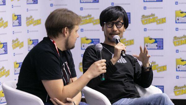 ゲームについて語る小島氏 - Sputnik 日本
