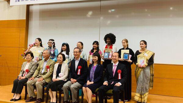 女子留学生日本語弁論大会全国大会 - Sputnik 日本