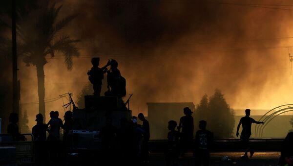 ポンペオ国務長官、イラクでの抗議デモを背景に、イラク首相に自制を呼びかける - Sputnik 日本