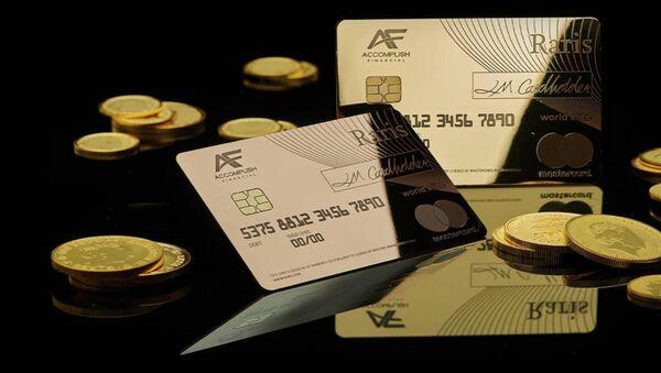 18カラットの黄金クレジットカード - Sputnik 日本