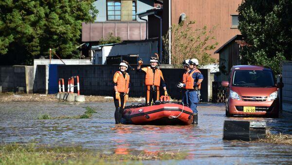 台風19号による被害 - Sputnik 日本
