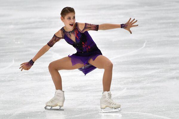 ロシアフィギュアスケートのアリョーナ・コストルナヤ選手 フィンランディア杯2019 - Sputnik 日本