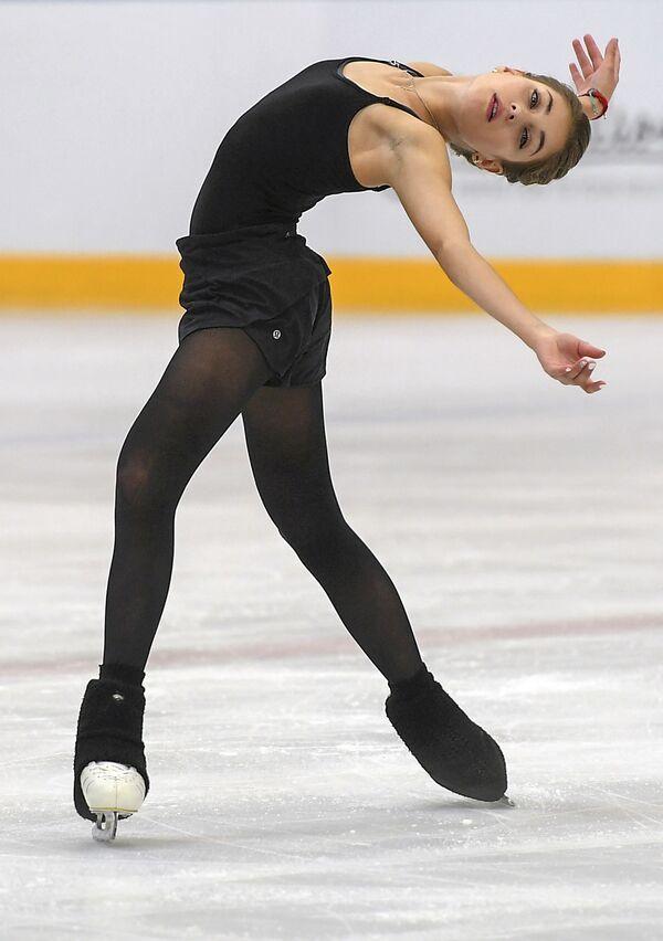 アリョーナ・コストルナヤ選手 モスクワでのテスト演技 - Sputnik 日本
