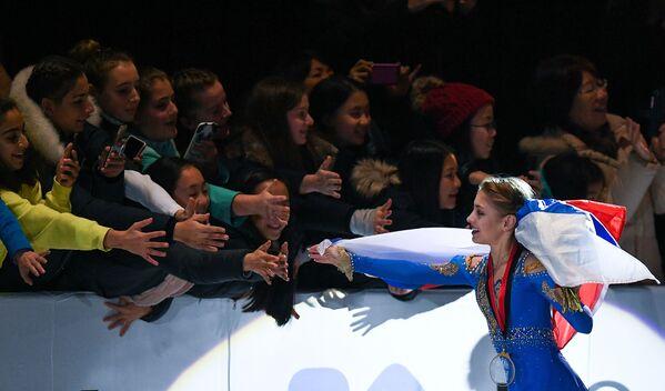 アリョーナ・コストルナヤ選手 ジュニアGPファイナル・女子シングルで金メダル獲得 バンクーバー - Sputnik 日本