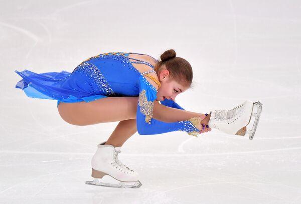 ロシア選手権女子シングル・ショートプログラムのアリョーナ・コストルナヤ選手  - Sputnik 日本