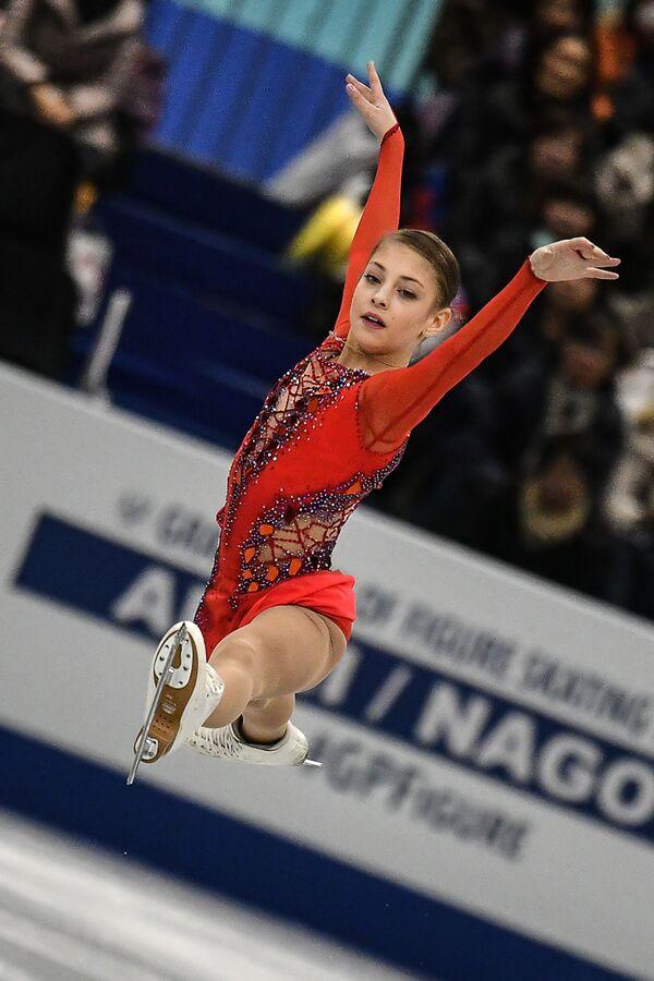 アリョーナ・コストルナヤ選手 ジュニアGPファイナルのショートプログラム 名古屋 - Sputnik 日本