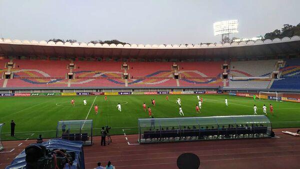 韓国と北朝鮮のサッカー試合 - Sputnik 日本