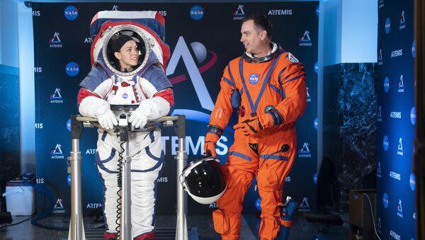 NASA新しい用宇宙服 - Sputnik 日本