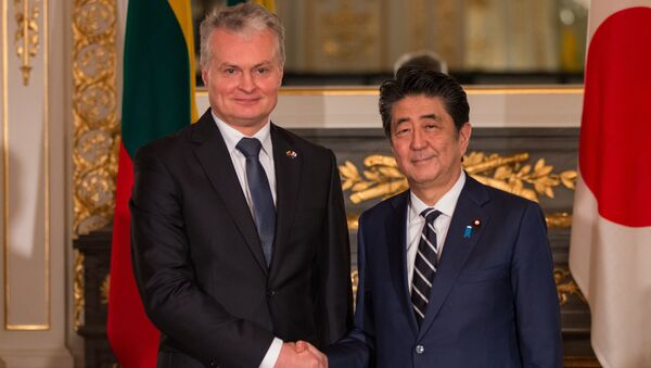 リトアニア大統領、安倍首相にベラルーシ原発の不満を訴える - Sputnik 日本