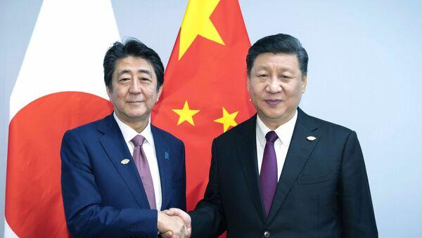 首相、香港情勢で平和解決を要請  中国副主席と会談 - Sputnik 日本